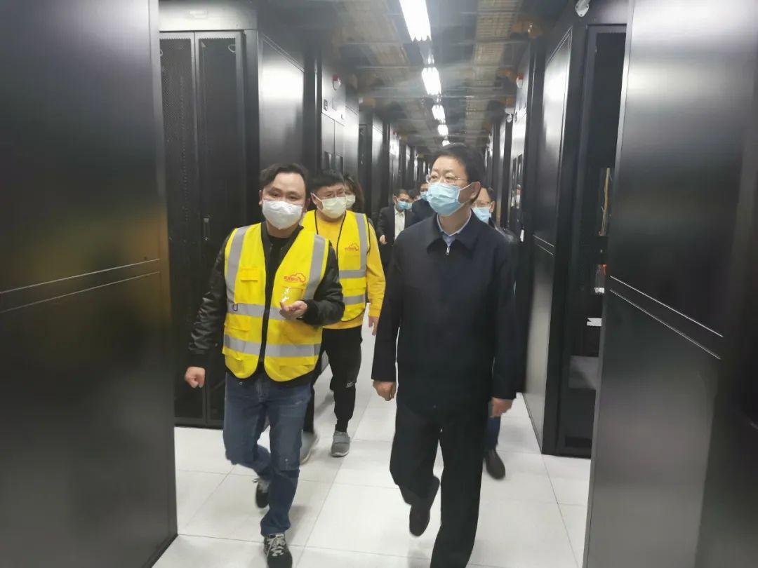 重庆市委常委,两江新区党工委书记段成刚调研腾龙两江数据中心